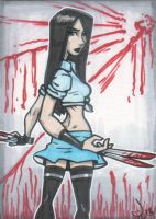 Sketch Card X23 by LordSantiago