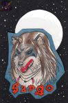 sargo - badge - traditional art by sammacha