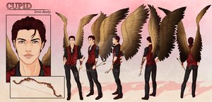 Cupid - Character Reference Sheet by TeraSArt