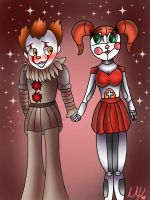 Pennywise x Baby by Fnaflover177
