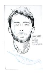 Thom Yorke by honeymoonspiders