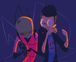 Invader Zim by trashcanprince
