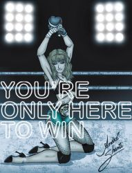 YOU'RE ONLY HERE TO WIN by andreshanti