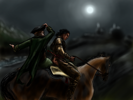 Connor and Paul Revere by splat-sealy