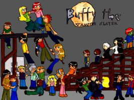 Tribute To The Buffyverse by Rochelle-the-Echidna
