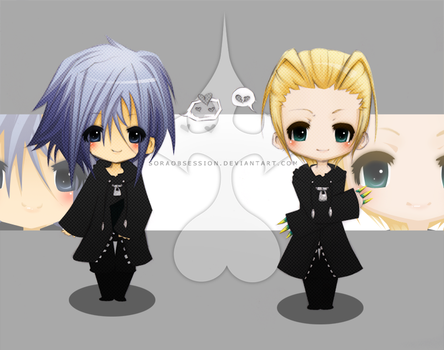 KH: Zex and Larx by soraobsession