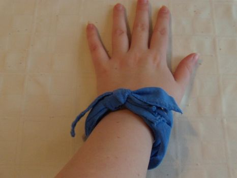 Recycled T-Shirt Bracelet 2 by ImmortalEcstasyDream