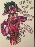 Blood, Blood, GALLONS of the Stuff~  by humble-abode