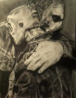 Slipknot: Corey Taylor and Paul Grey 2 by DannyMacUilliam