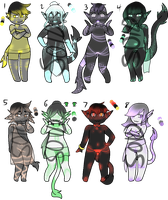 Quill Adopts 4/8 {OPEN} by LycanDreamAdopts