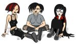 Goth Chicks by S-C