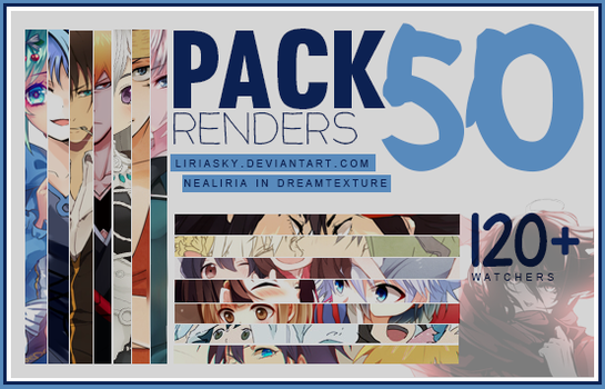 [Pack] 50 renders for 120 +W by LiriaSky