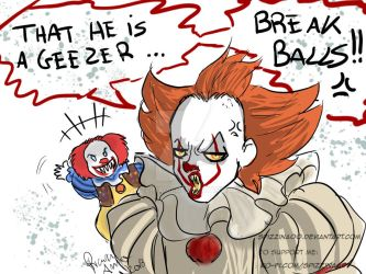 IT Pennywise- What do you think of the old penny? by Spizzina00