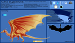 TCotDP_ Alina Skydancer Character sheet 1/2 by chrissi1997