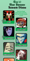 Top 10 Awesome Villains Meme for SGF by StretchyGalFan