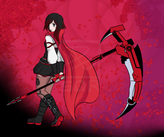 Ruby rose by SqrMarshmellow