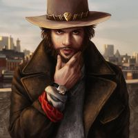 Casual McCree by Dzydar