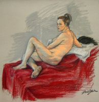 life drawing class 13 by PlatypusGreen