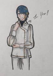 Alfonse-FanClub first anniversary ! by CreamPurin