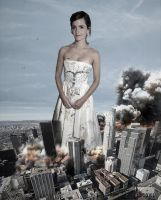 Giantess Emma Watson Deadly Disposistion by GiantessStudios101