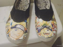 Naruto Shoes by psto1464