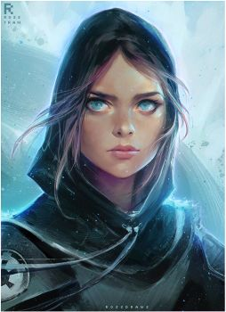 Jyn Erso : YouTube! by rossdraws