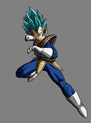 Vegeta SSGSS, Alt Colors by hsvhrt