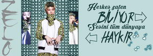 SHOUT your VOICE to the WORLD [B.A.P (Zelo)] by mervegk