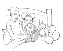 bedtime story - Ink by artgyrl