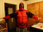 Finished Deadpool Hoodie Front by Linksliltri4ce