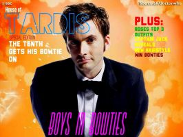 House of TARDIS presents Boys in Bowties by Penguins-in-Cravats