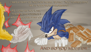 Sonic meets Super Sonic by Morgoth883