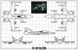 SF30 Falcon schematic by stourangeau