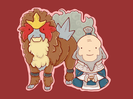Entei and Iroh