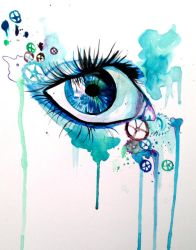 Colorful Eye by Lucky978