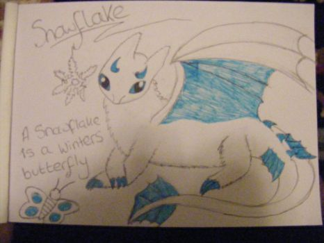 Snowflake (Contest Entry) by DragonprotectorRyuu