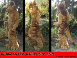 Tasman Tiger Fursuit Costume by AtalontheDeer