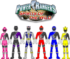 Power Rangers Spirits of the Wild by DerpMP6