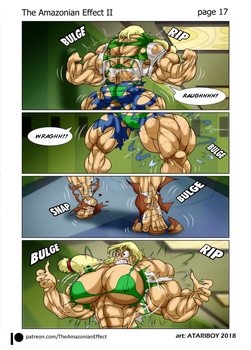 The Amazonian Effect II Page 17. by Atariboy2600