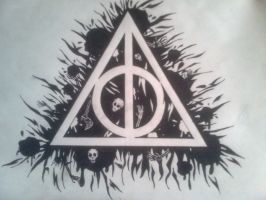 The Deathly Hallows by beno1912