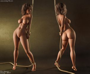 Naomi Body Test by Woodys3d