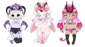 Adopts:Page seven-GemStone/Flower inspired-CLOSED by Peanutso-BuTTer