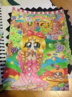 Candy Crush candy finished by Darklinknrone