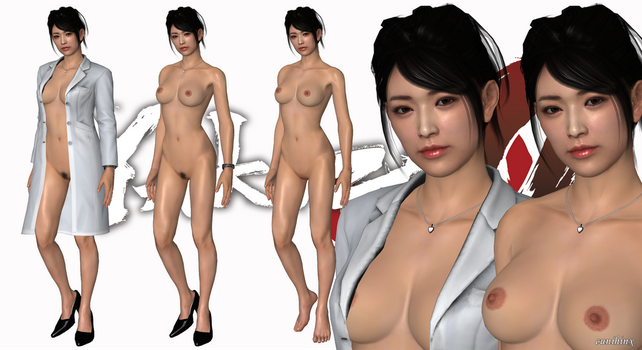 The Doctor (Yakuza 0) Nude Mod For XPS by cunihinx
