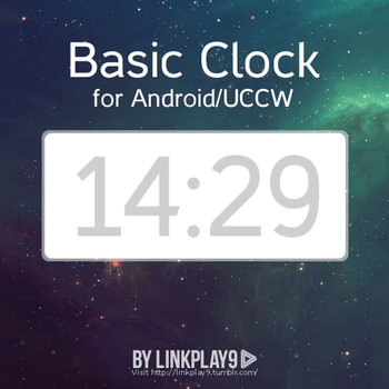 Basic Clock for UCCW by LinkPlay9