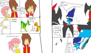 dinosaur king ep 80 pages  7 and 8 by imyouknowwho