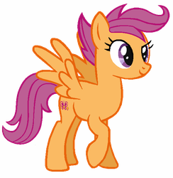 Adult Scootaloo by Shokka-chan