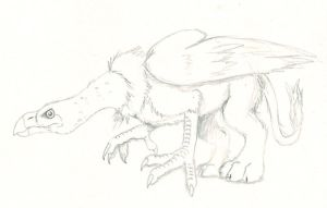 Griffin Vulture by Cerulean452