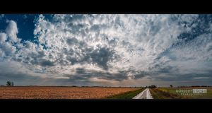 Cloudy Skyscape by NorbertKocsis