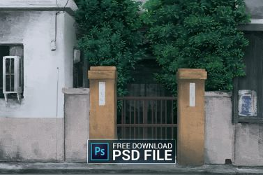 Free PSD + Timelapse video by qs2435